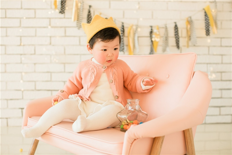 Sodawn 2PCS Baby Clothing Set For Girl  2020 New Baby Girl Romper Knitted Jumpsuit+Coat Autumn Winter Clothes Toddler Girl Suit