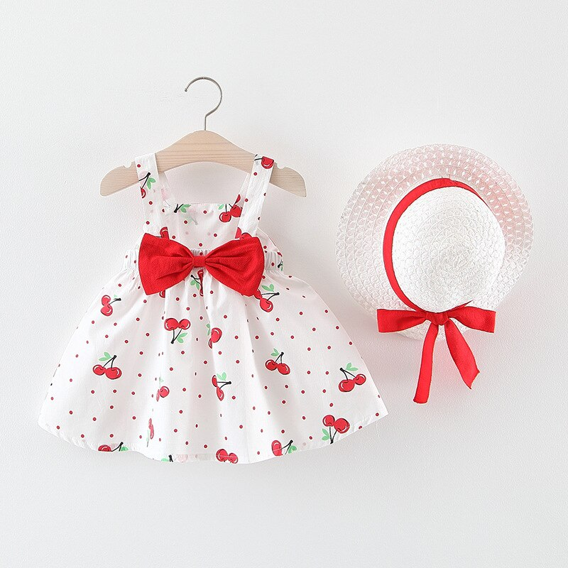 Baby Girls Clothing 2020 Baby Girl Clothes Set Outfit Baby Boho Style Summer Beach Outfit Clothe Tops + Pants + Hat
