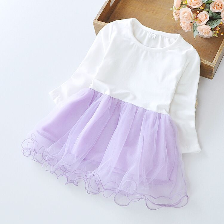 2020 New Baby Girl Dress Princess Infant Party Dresses Girls Kids Spring Autumn tutu Dress Baby Clothing Toddler Girl Clothes