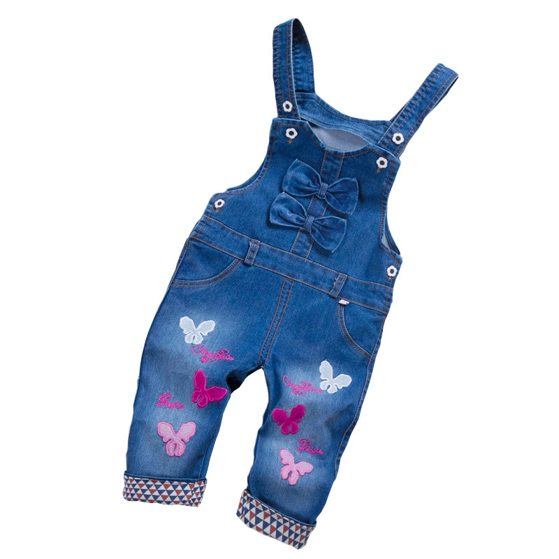 2020 Spring Autu kids overall jeans clothes newborn baby denim overalls jumpsuits for toddler/infant girls bib pants