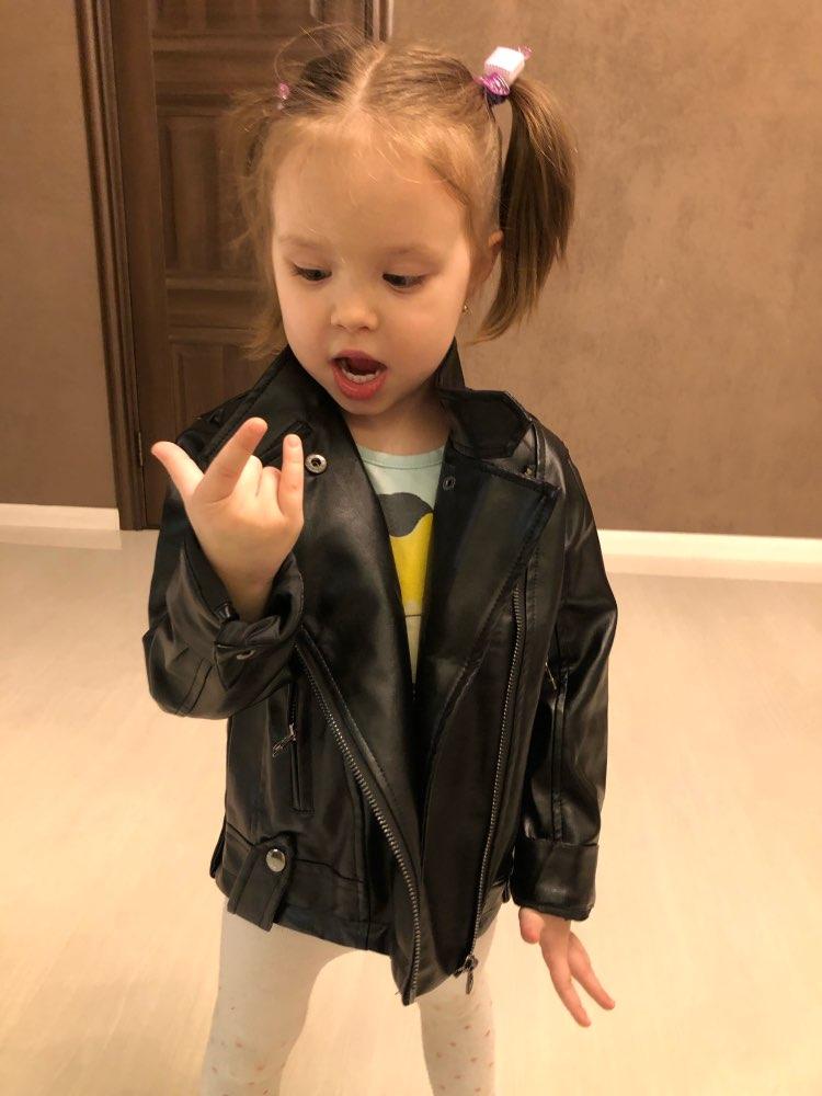Baby Girls Boy Overwear 2020 Spring Autumn Winter PU Coat Jacket Kids Fashion Leather Jackets Children Coats Overwear Clothes