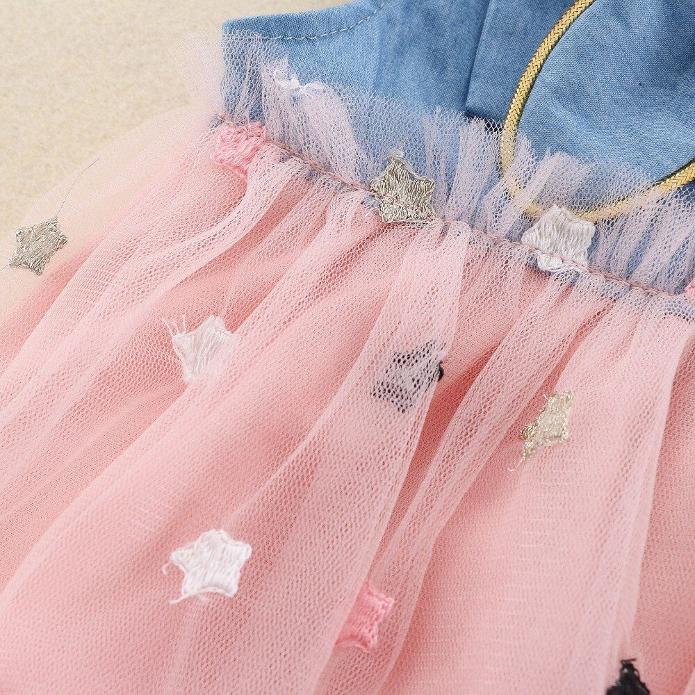 2020 Cute Baby Girls Dress Toddler Girls Princess Dresses For Baby  Pageant Kids Bebe Infant Birthday Party Costume Baby Clothes