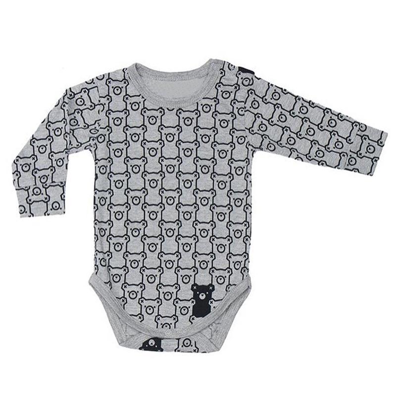 TinyPeople 2020 infant Spring Cotton body bebe clothes Cartoon Newborn dress cute Print baby Bodysuit Baby Boys Girls Jumpsuit