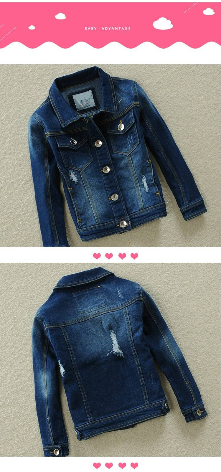 Baby Boys And Girls Denim Jacket 2020 Spring Autumn Jackets Unisex Fashion Outerwear Coats For Kids Children Jacket Clothes Y46