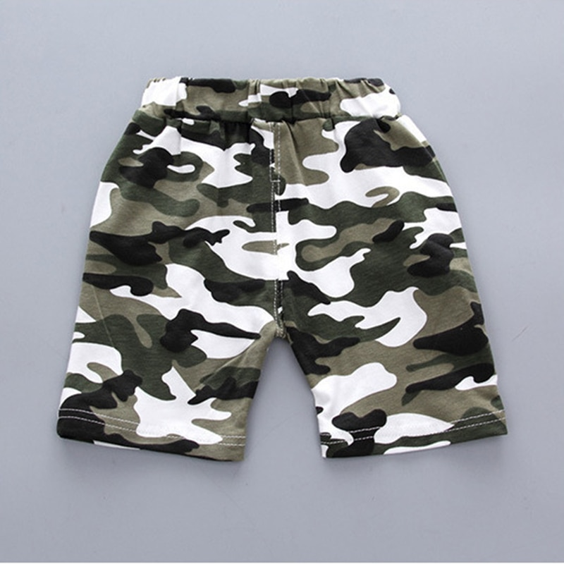 2020 New Summer Casual Camouflage Newborn Baby Boy Toddler Clothes Set T Shirt Tops Pants 2Pcs/sets Cotton Kids Outfits Clothing