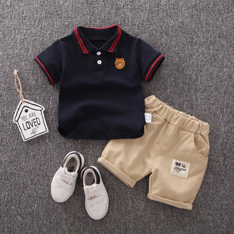 Fashion Infant Summer Boys Clothing Newborn Baby Boys Clothes Set Outfits Baby Costume Suit For Baby Clothing Sets