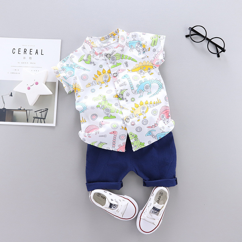 Baby Boy Clothes Sport Clothing Tracksuit Summer Casual Clothes Set T-shirt +shorts 2PCS Toddler Clothing Sets 0-4 Years