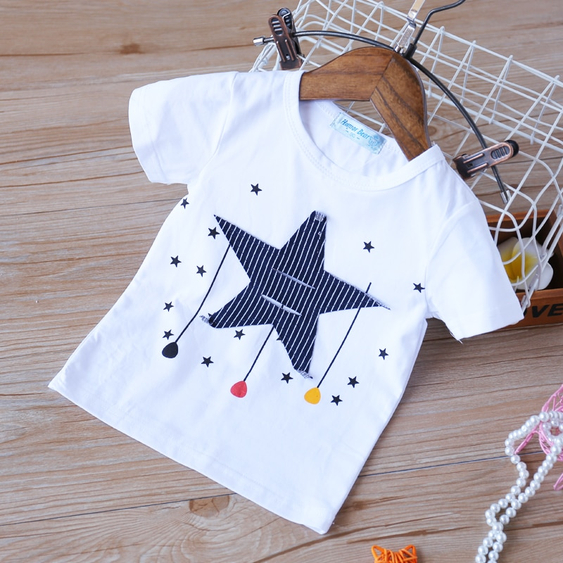 Humor Bear 2020  Summer Children Baby Boy Clothes Sets Sleeveless T-Shirt + Camo Shorts 2pcs Toddler Kids Suits  Child Clothing
