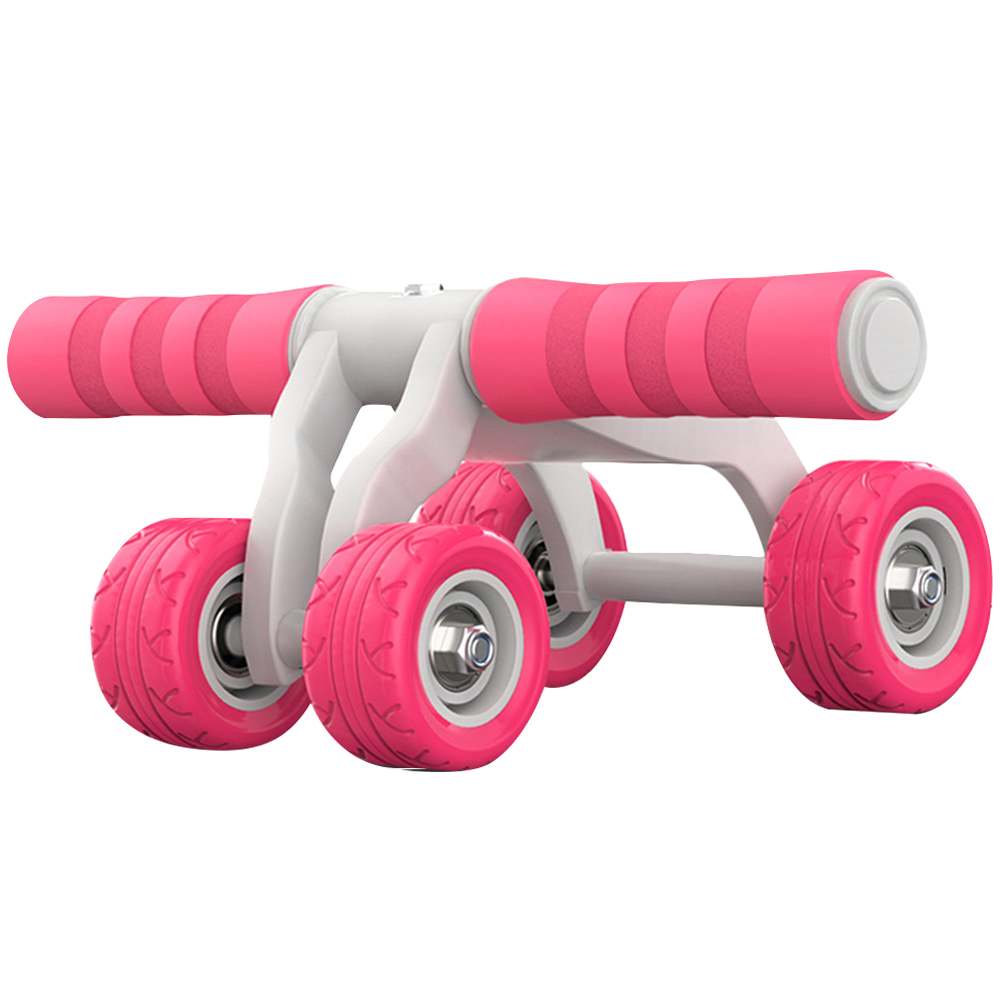 New Fitness Abdominal Wheel AB Roller Muscle Trainer Keep Fit Wheels for Waist Leg Exercise Home Gym Training Equipment