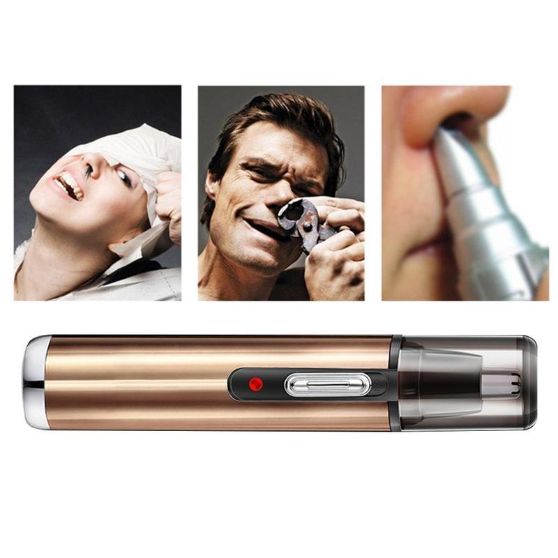 1pcs Electric Rechargeable Hair Removal Eyebrow Trimer Ear Nose Hair Trimmer Shaving Personal Face Care Tools Kit For Men