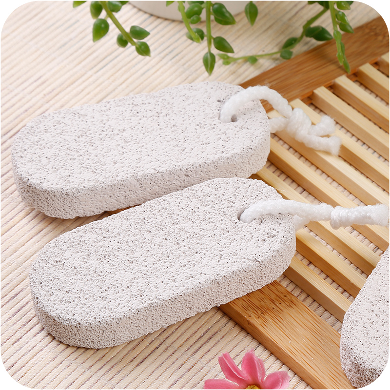 Natural Stone Foot Brush Scrubber Feet Massage Pedicure Scrub Brushes Exfoliating Spa Shower Remove Dead Skin Foot Care Tool