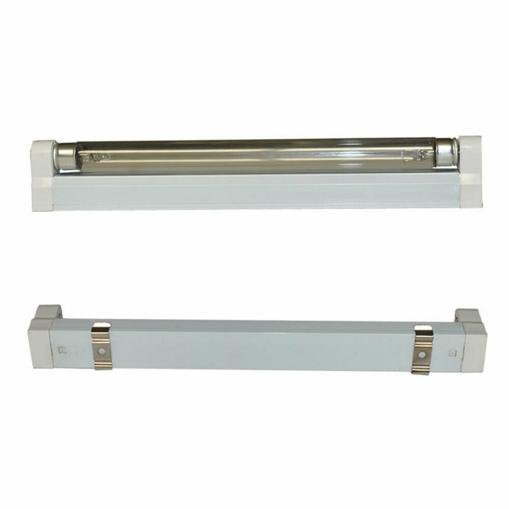 6W 8W UV Sterilizer Ozone Light UVC Disinfection Light Cleaning Light Mini Sanitizing Germicidal Bulb for Cabinet Toilet Pet