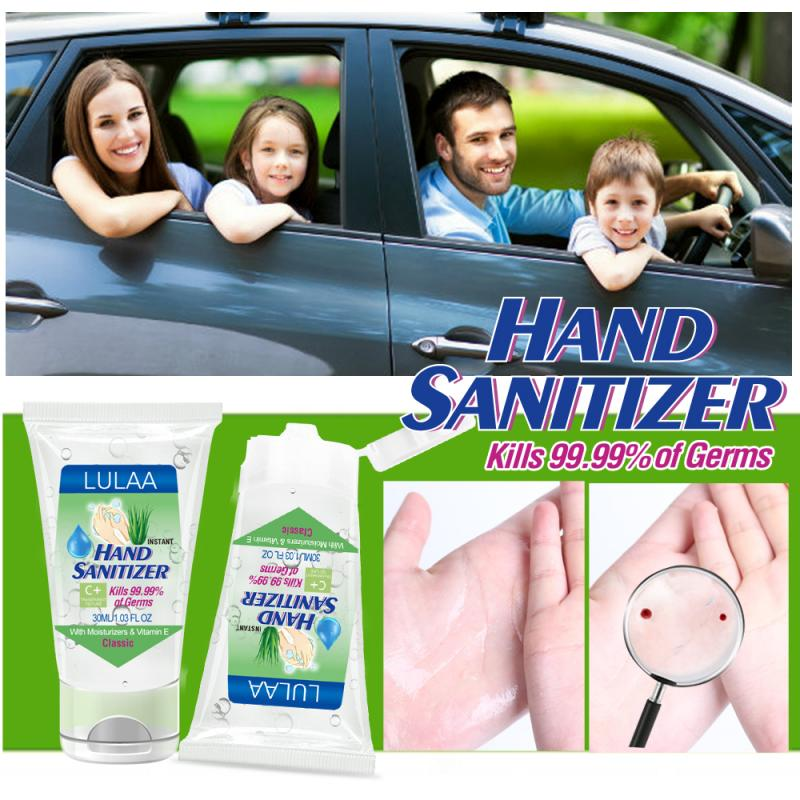 30g Hand Sanitizer Gel Non-alcoholic Hand Soap Gel Portable Hand Disinfection Gel Personal Hygiene Cleaning Supplies TSLM1