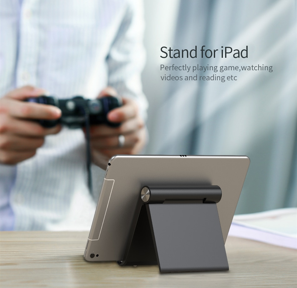 Rexxar Phone Holder Stand Mobile Smartphone Support Tablet Stand for iPhone Desk Cell Phone Holder Stand Portable Mobile Holder