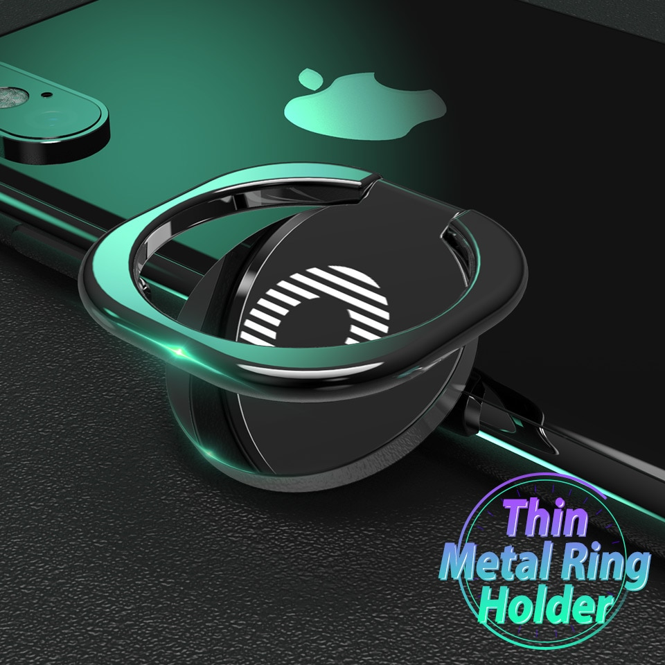 Mini Phone Ring Finger Ring Holder Metal Phone Stand Mount Smartphone Holder for Xiaomi Samsung S20 Tablet Mobile Phone Portable