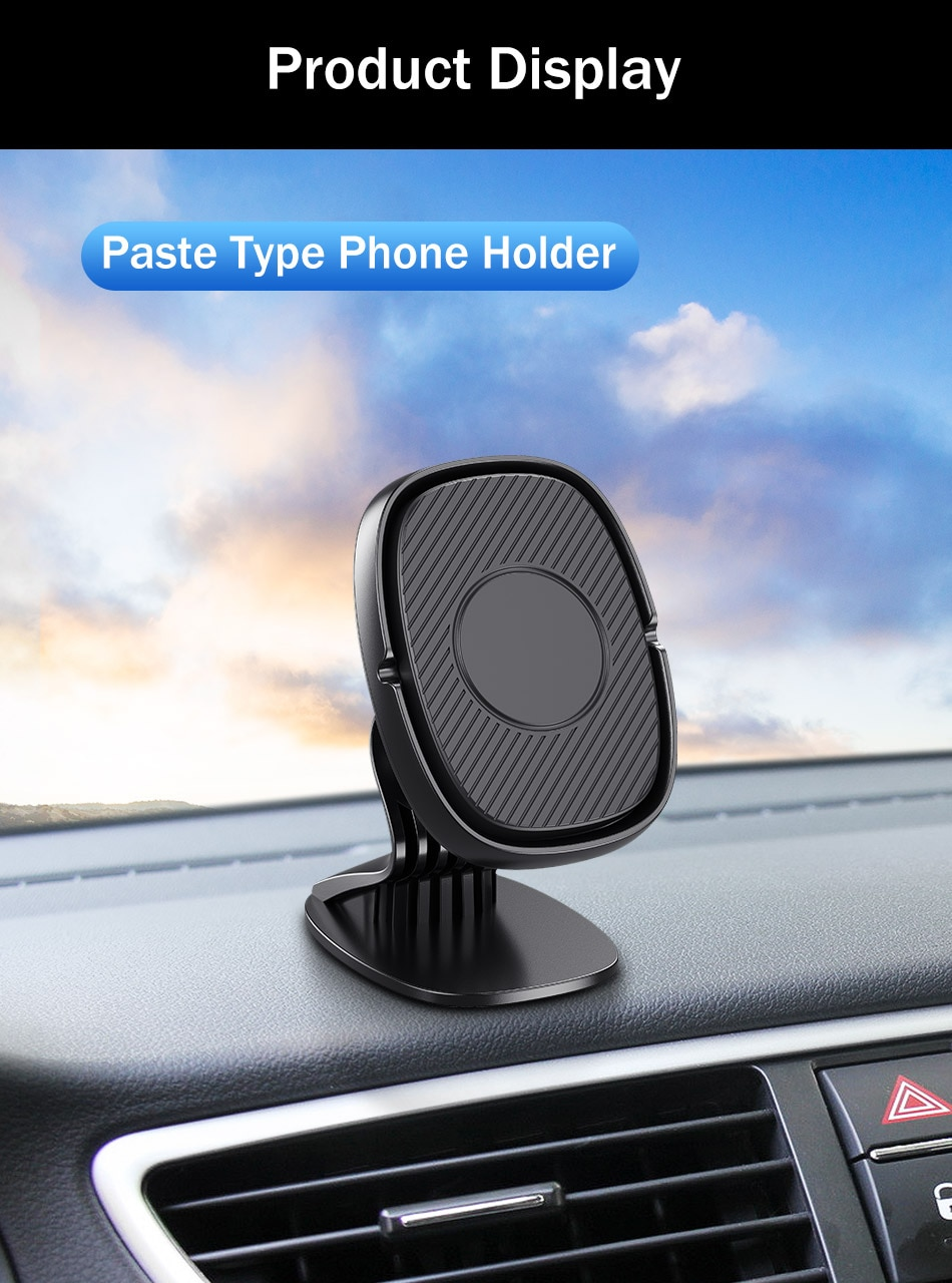 YKZ Magnetic Car Holder For iphone Samsung Mobile Phone Holder Stand Car Air Vent Magnet Mount GPS Support Car Phone Holder