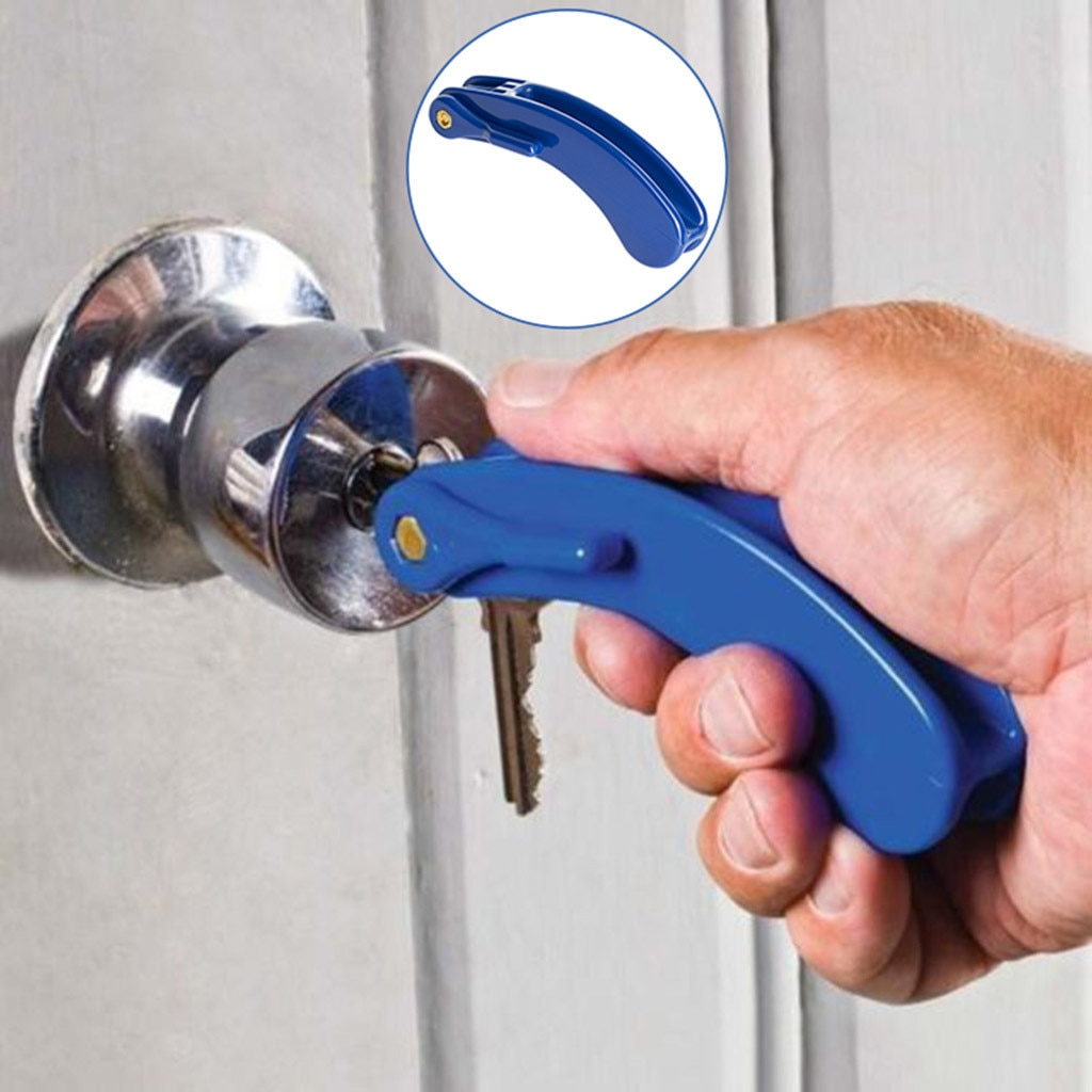 Key Turn Assistance - Door Opening Assistance With Elderly And Disabled Arthrit Hearing Aids #TX2