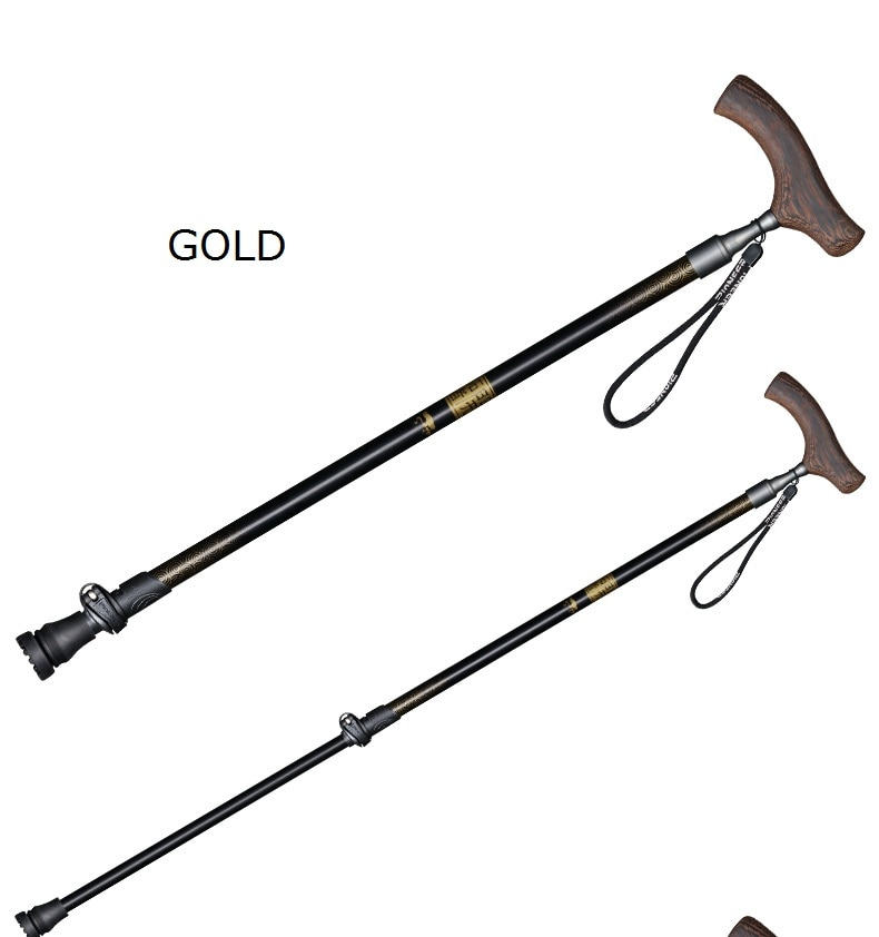 Adjustable Telescopic Canes Walking Sticks Easy Grip Handle For Arthritis Seniors Disabled And Elderly Best Mobility Aids Cane