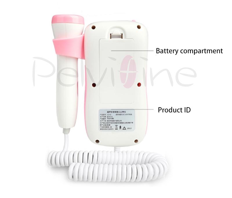 Fetal Dopler hand-hold portable fetal doppler sound Baby heart pregnancy Ultrasound fetus doppler Detector machine monitor