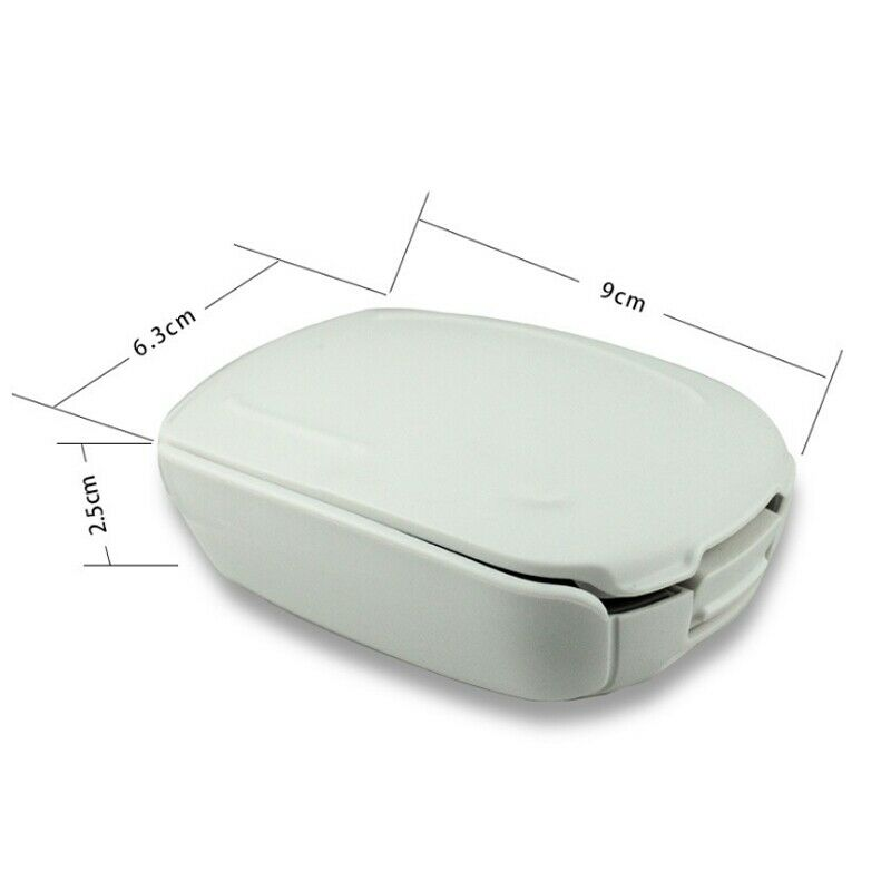 Hearing Aid Case Hard Small Storage Box for BTE, ITC, CIC Protector Earphone Carrying Box Holder