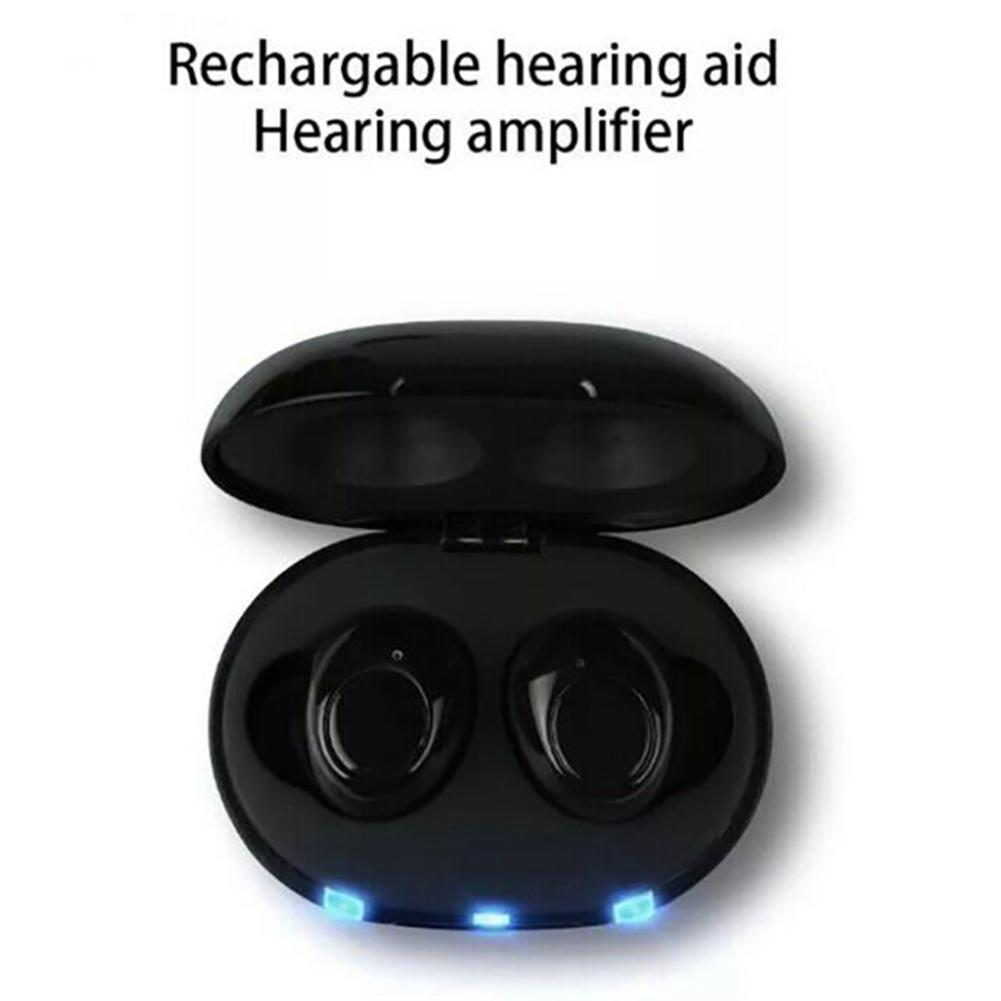 2020 New Digital Best Quality Mini CIC Hearing Aid Invisible Hearing Aids Sound Amplifier Good as Siemens hearing aids Amplifier