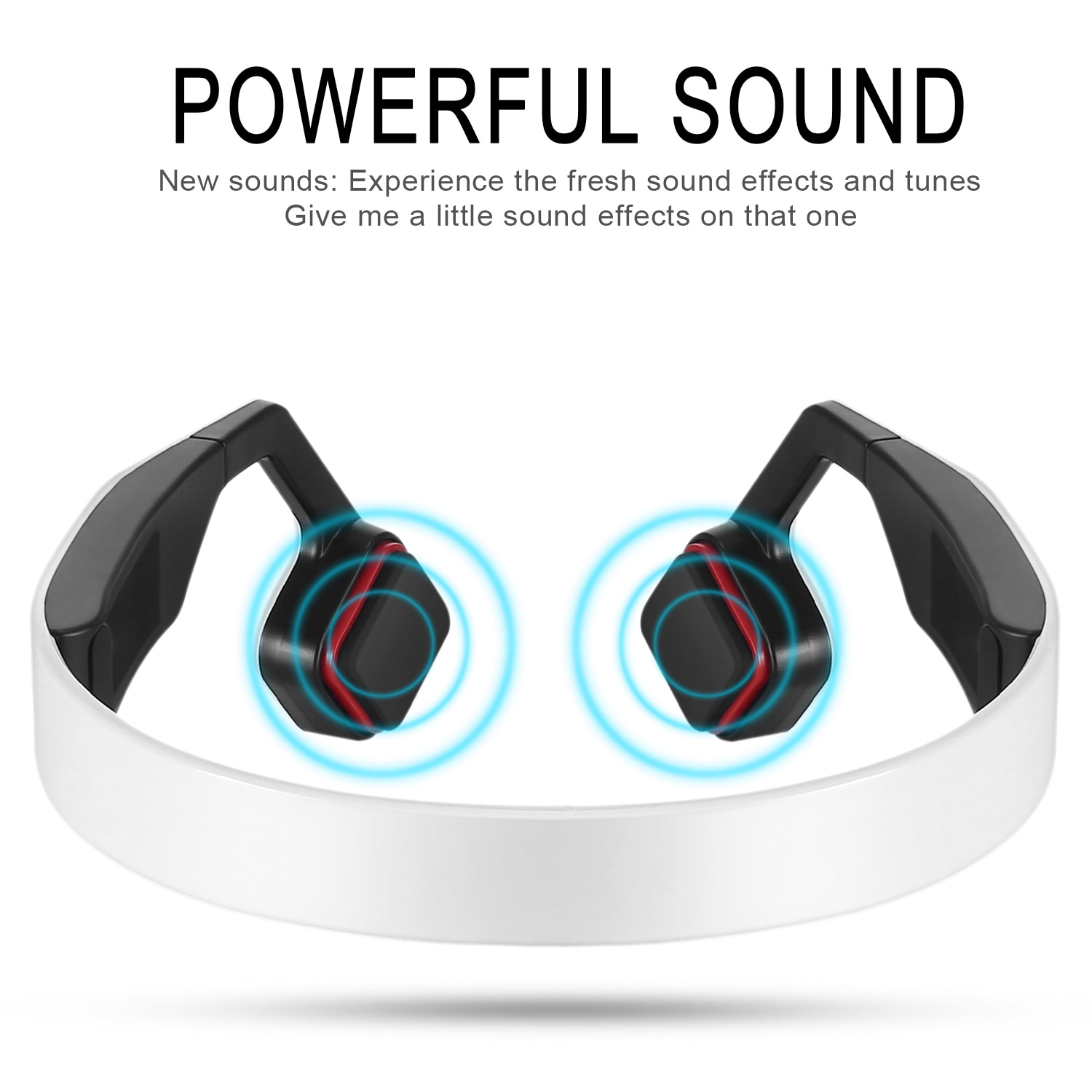 BN-701T Hearing Aid Earphone Wireless Bone Conduction Headphones elder headphone built-in battery Bluetooth