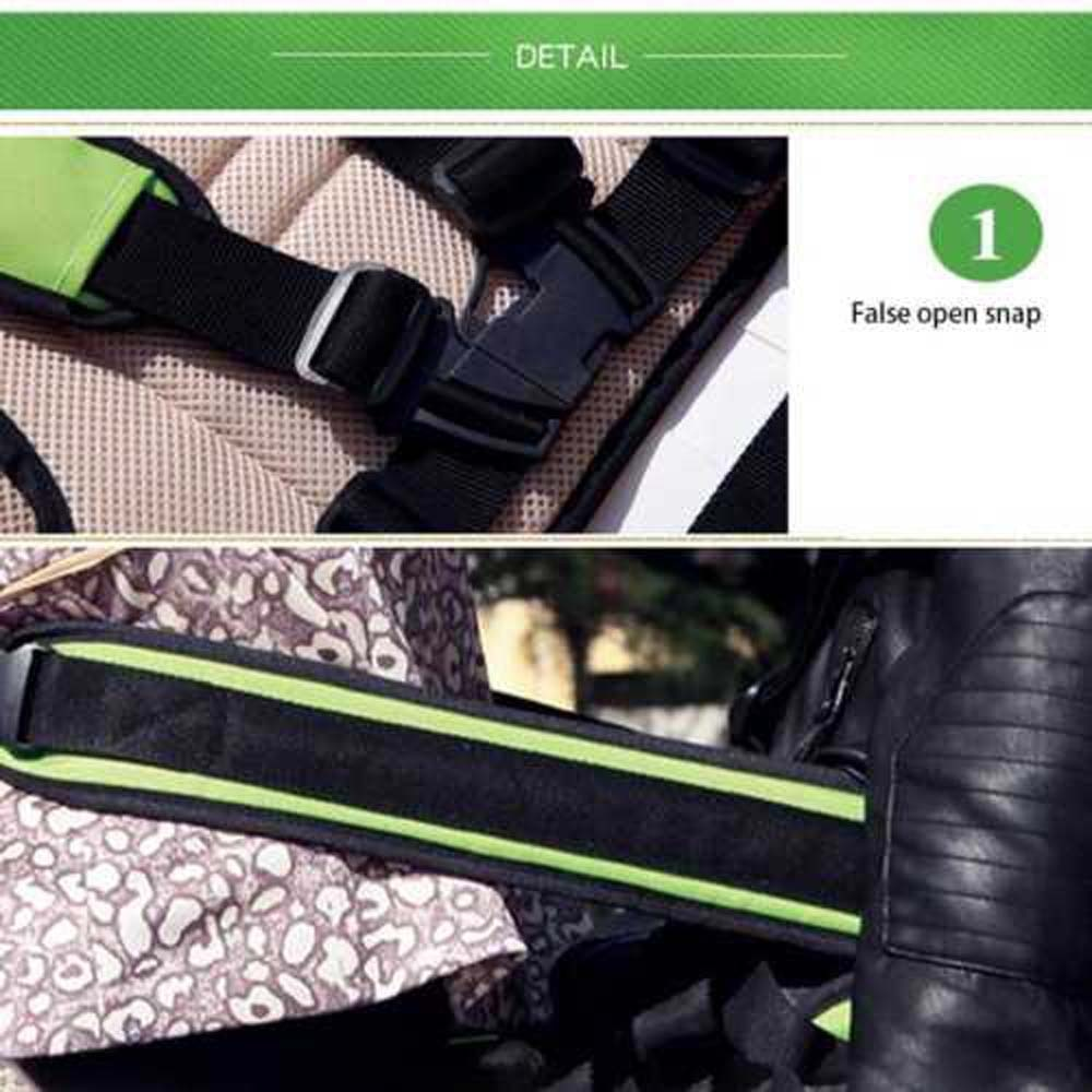 Kids Motorcycle Bicycle Safety Belt Adjustable Seat Strap Back Support Belt Protective Gear Safe Strap  For Child Safety