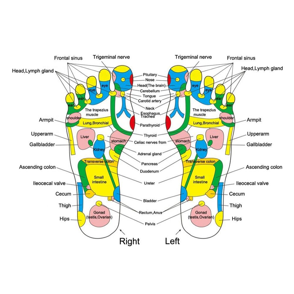 Feet Massage Slippers Foot Reflexology Acupuncture Therapy Massager Walk Stone Shoes Acupuncture Cobblestone Massageador Sandal