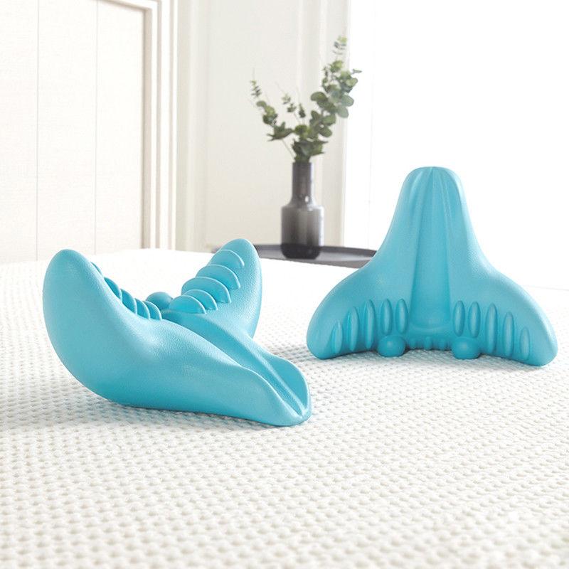 Portable Neck Massager Relaxation Pillow Gravity Pillow C-Rest Neck Cervical  Massage Tools