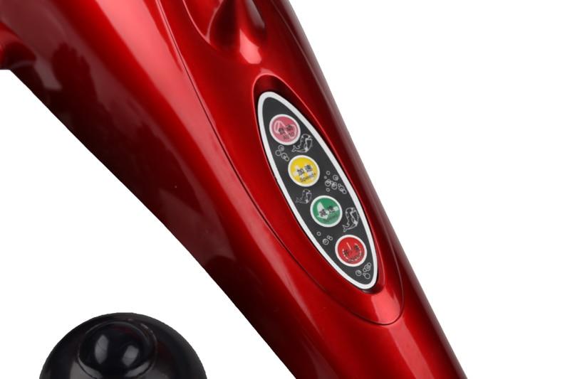Electric Dolphin Massager Back Massage Hammer Vibration Infrared Stick Roller Cervical Body Massage