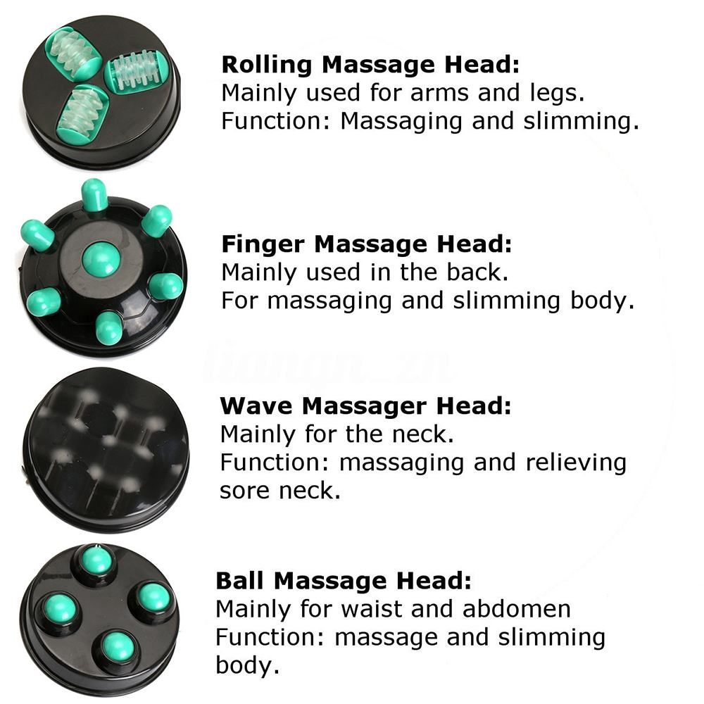 Electric Body Massager Slimming Infrared Anti-cellulite Machine Women Relax Professional Health Care Massage Tool Masajeador