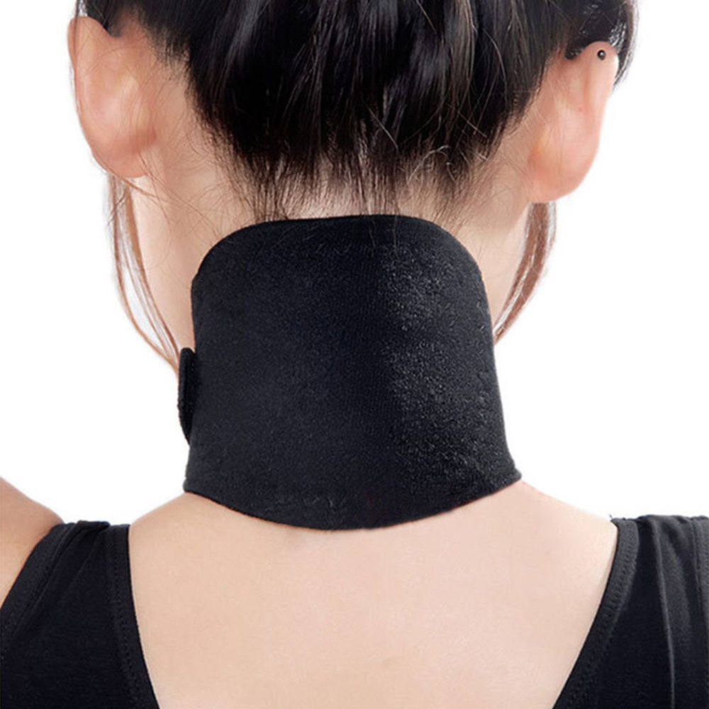 Tourmaline Magnetic Therapy Neck Massager Relaxation Massage Cervical Vertebra Protection Spontaneous Heating Belt Body Massager