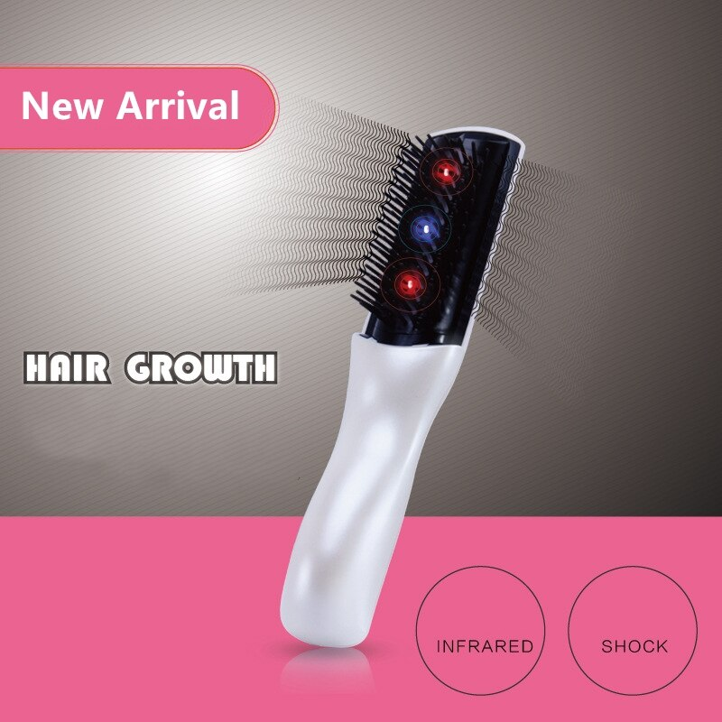 1PCs Hair Growth Care Treatment Laser Massage Comb Hair Comb Hair Brush Grow Infrared Anti Hair Loss Therapy Massager Equipment