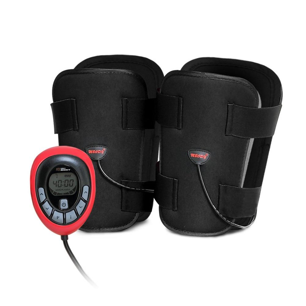 EMS Smart Legs Toner Massager 150 Intensity Electric Toning Belt ABS Female Anti Cellulite Weight Loss thigh Slimming Legs Belt