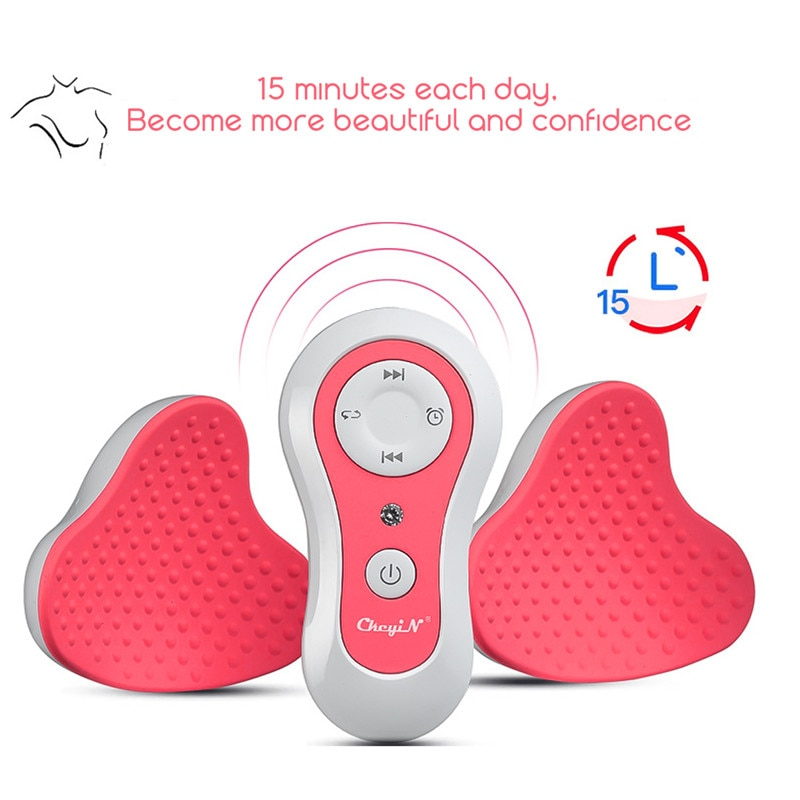Rechargeable Breasts Enlarge Pump Massager with Auto-off Function Bust Lift Enhancer Effective Enhancer Bra Increase Big Bust