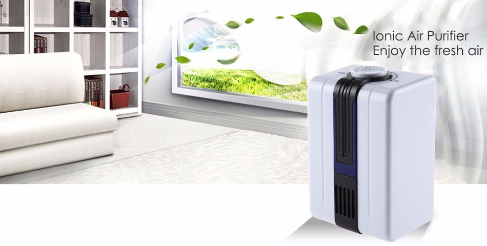 Home Ionizer Purifiers Ozonator Air Cleaner Oxygen Purify Kill Bacteria Virus Clear Peculiar Smell Smoke