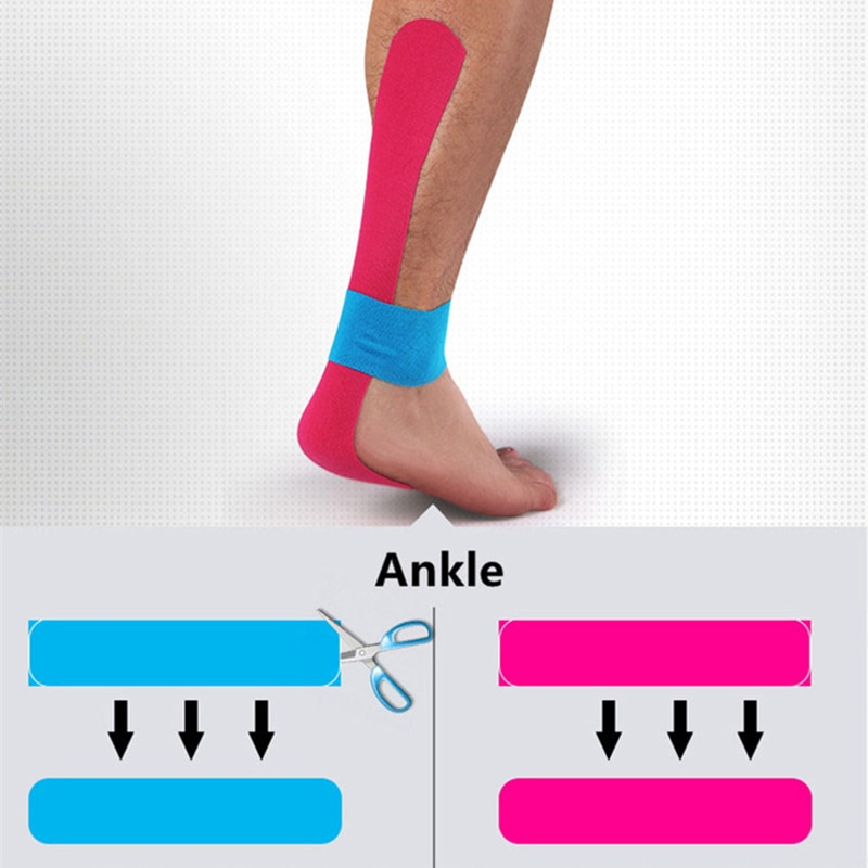 2 Size Kinesiology Tape Perfect Support for Athletic Sports, Recovery and Physiotherapy Kinesiology Taping