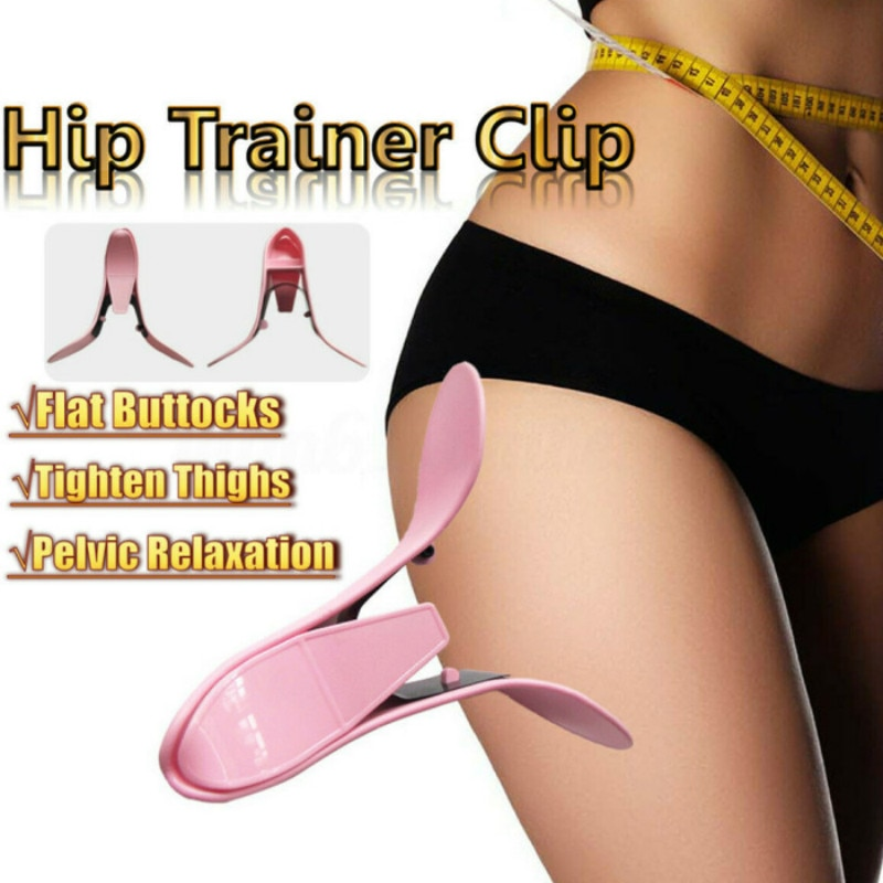 Gym Hip Trainer Gym Pelvic Floor Sexy Inner Thigh Exerciser gym Home Equipment Fitness Correction Buttocks Butt Device workout