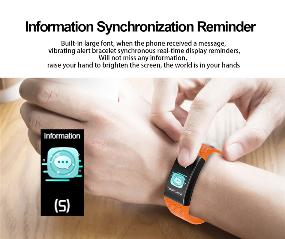 LIGE New Thermometer Watch Waterproof Health Monitor Heart Rate Blood Pressure Pedometer for Android ios Electronic Sports Watch