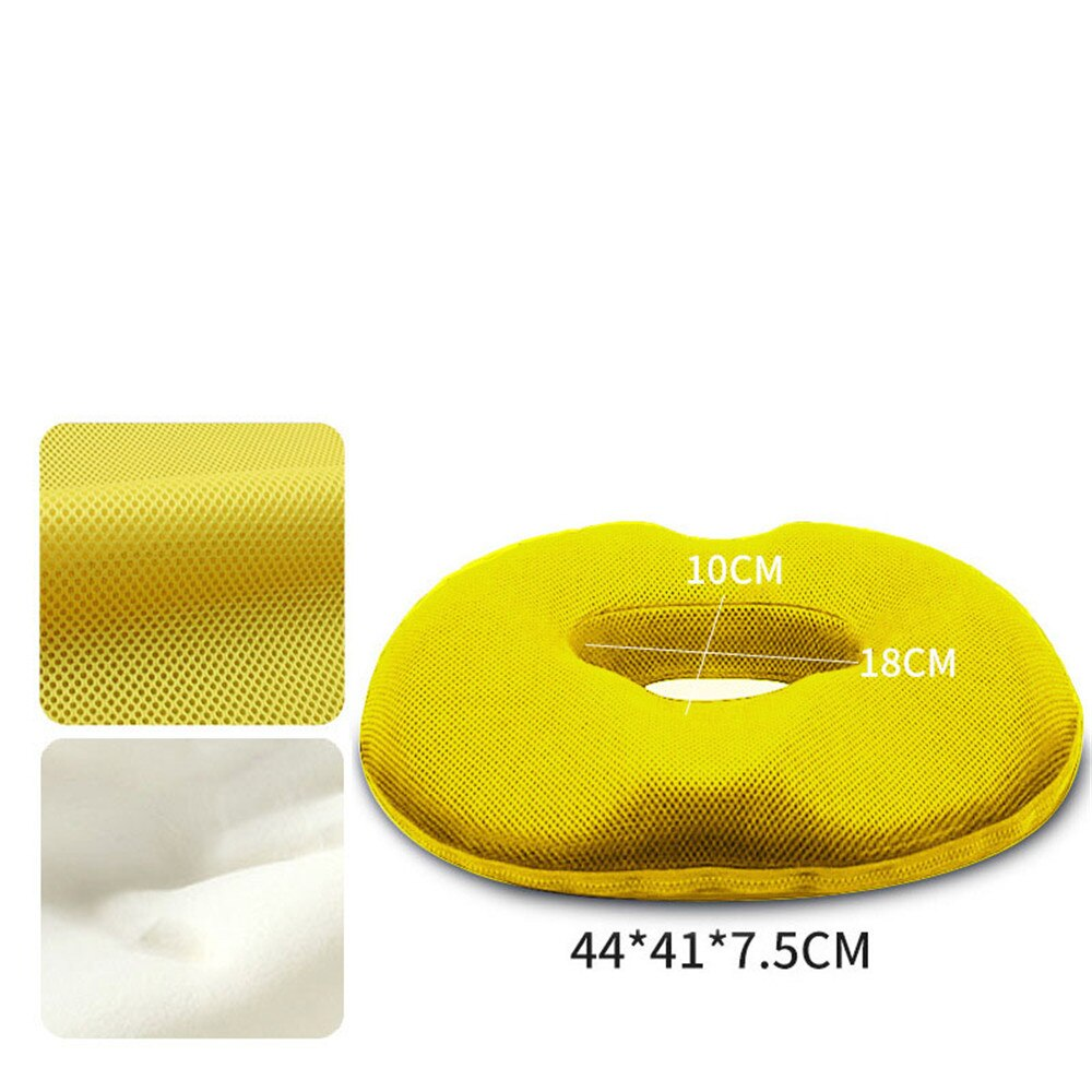 Cushion Seat Pillow Office Memory Cotton Hollow Decor Sofa Chair Hemorrhoid Orthopedic Foam Cushion Anti-bedsores Health pad