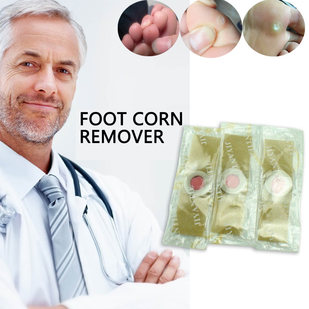 12 pcs/Only 0.74$ Sumifun Detox Foot Pads Patches Feet Care  Foot Corn Removal Remover Feet Care D1360