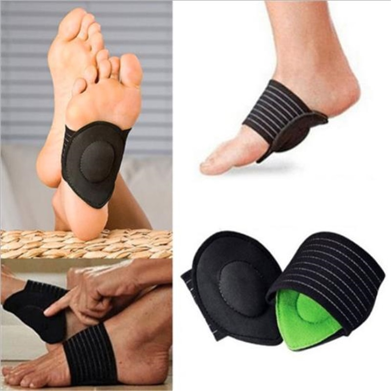 1pair Foot Support Plantar Cushion Fasciitis Aid Pain Relief Fallen Arches Heel Walking Anti-fatigue Foot Care Tools