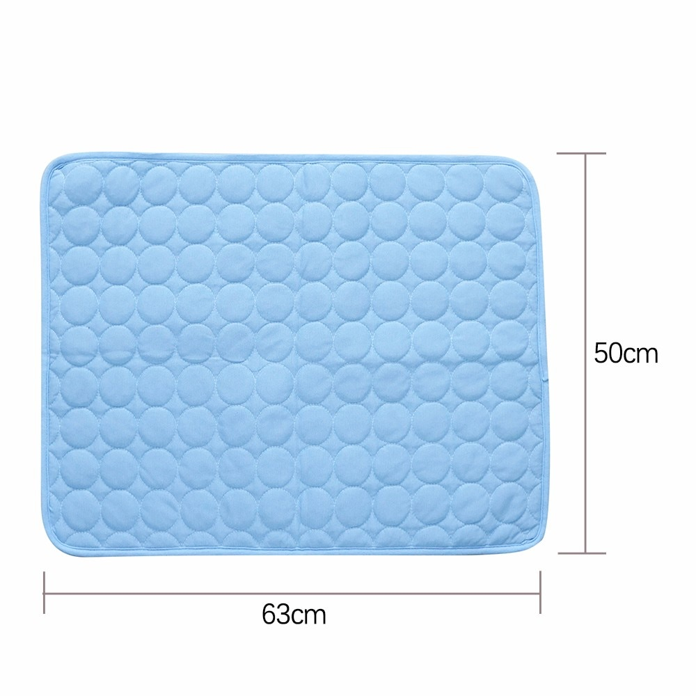 Summer Pet Cooling Mats for Dogs Summer Dog Bed for Small/Medium/Large Dogs/Cats Pet Cool Sofa Cushion Mattress for Cat S/M/L/XL