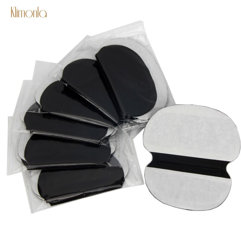 40X ( 20Pairs ) Disposable Underarm Black Extra Large Sweat Pads Care Perspiration Pad Shield Absorbing Deodorant