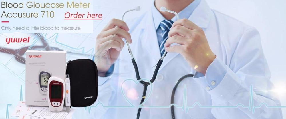 Hot Sale Accu-Chek Active Glucometer Blood Glucose Meter Diabetes Test Strips 50pcs + Free Lancets 50pcs  For Health Care