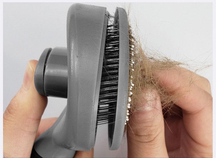 Dog Cat Comb Shedding Tool Brush Comb Rake Pet Fur Grooming Quick Clean Short Hair Pet Grooming Comb