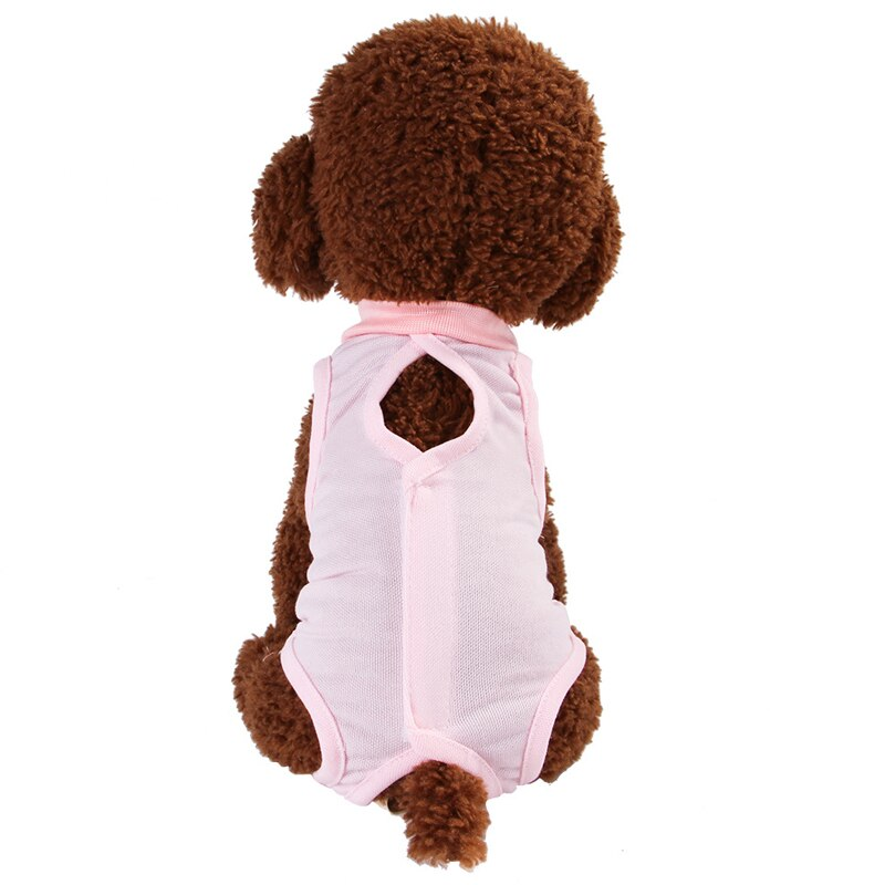 Recovery Cat Suit Sterilization Care Wipe Medicine Prevent Lick Wear Recovery Cloth Suit For Cats Dogs Vest Pet Clothes