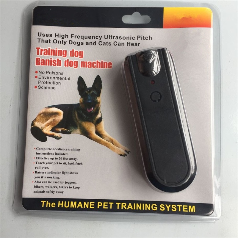 Ultrasonic Dog Repellers Anti Bark Control Stop Barking Away Dog Training Repeller Device Keep Unfriendly Dogs Away
