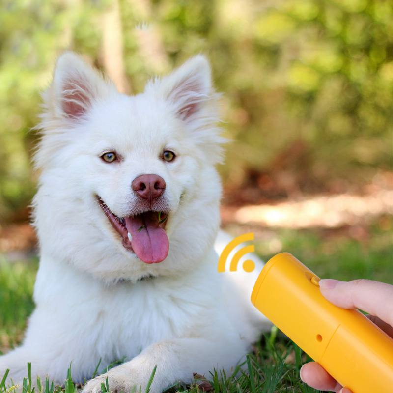 Ultrasonic Dog Training Repeller Control Trainer Device 3 in 1  Dogs Anti-barking Stop Bark Deterrents Pet Training Device