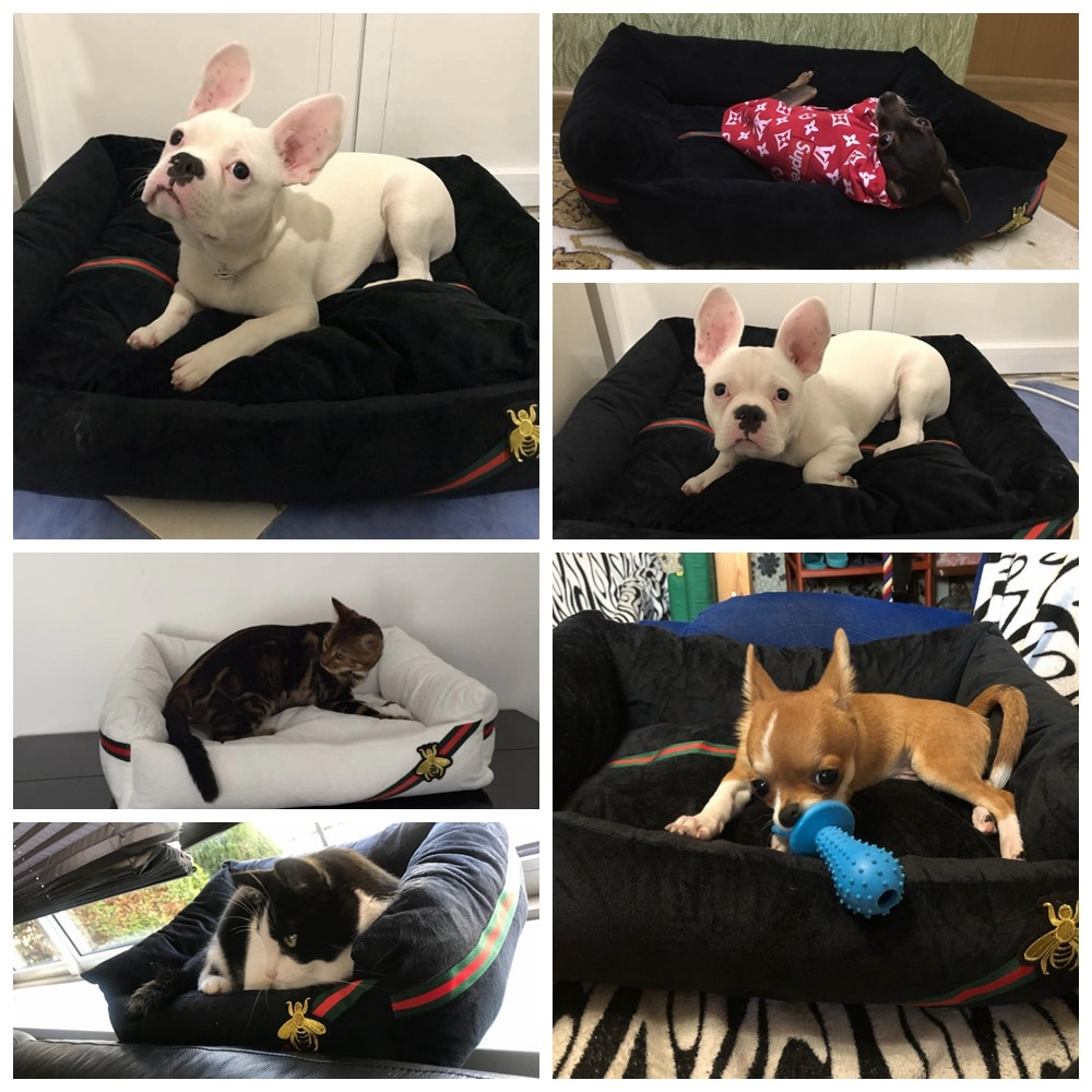 Pet Dog Bed Sofa Big Dog Bed For Small Medium Large Dog Mats Bench Lounger Cat Chihuahua Puppy Bed Kennel Cat Pet House Supplies